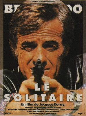 Le solitaire - French Movie Poster (thumbnail)