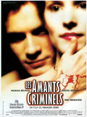 Les amants criminels - French Movie Poster (thumbnail)