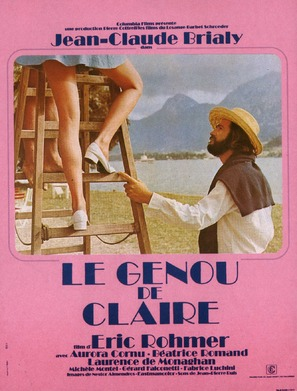 Le genou de Claire - French Movie Poster (thumbnail)