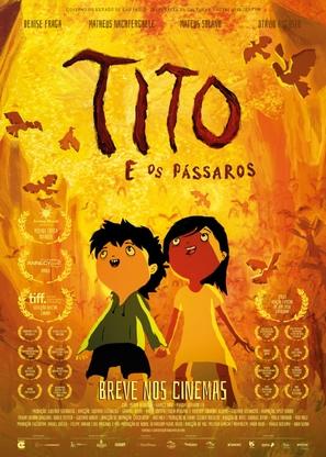 Tito e os Pássaros - Brazilian Movie Poster (thumbnail)