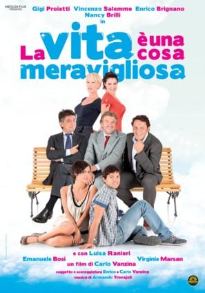 La vita è una cosa meravigliosa - Italian Movie Poster (thumbnail)