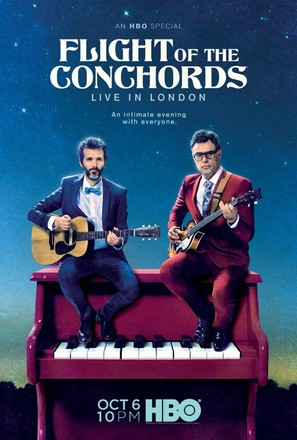 Flight of the Conchords: Live in London - Movie Poster (thumbnail)