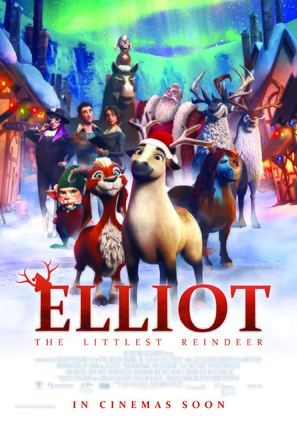 Elliot the Littlest Reindeer - Canadian Movie Poster (thumbnail)