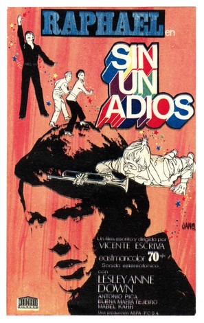 Sin un adiós - Spanish Movie Poster (thumbnail)