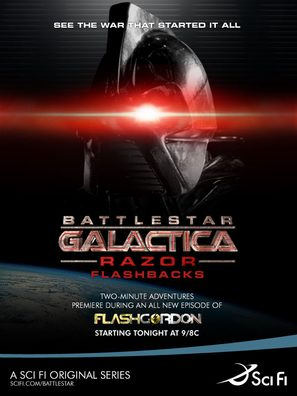 """Battlestar Galactica: Razor Flashbacks"" - Movie Poster (thumbnail)"