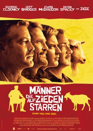 The Men Who Stare at Goats - German Movie Poster (thumbnail)
