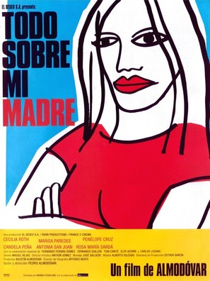 Todo sobre mi madre - Spanish Movie Poster (thumbnail)