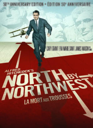 North by Northwest - Canadian DVD cover (thumbnail)