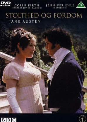 """Pride and Prejudice"" - Danish DVD movie cover (thumbnail)"