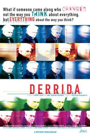 Derrida - Movie Poster (thumbnail)