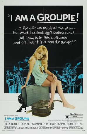 Groupie Girl - Theatrical poster (thumbnail)