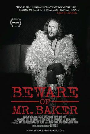 Beware of Mr. Baker - Movie Poster (thumbnail)