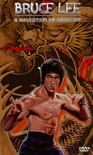 Bruce Lee: The Immortal Dragon - Hungarian Movie Cover (thumbnail)