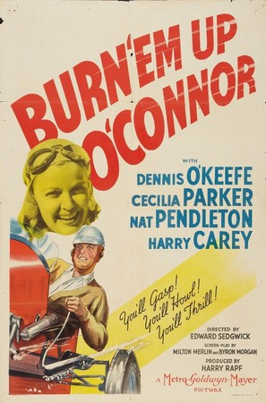 Burn 'Em Up O'Connor - Movie Poster (thumbnail)