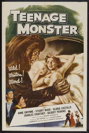 Teenage Monster - Movie Poster (thumbnail)