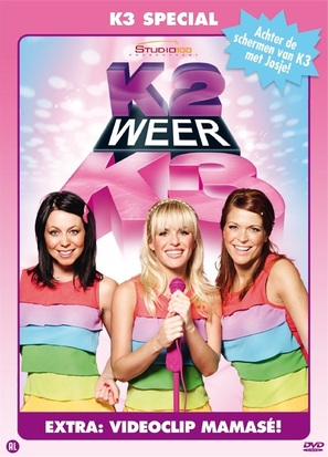 """""""K2 zoekt K3"""" - Belgian DVD cover (thumbnail)"""