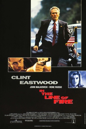 In The Line Of Fire - Belgian Movie Poster (thumbnail)
