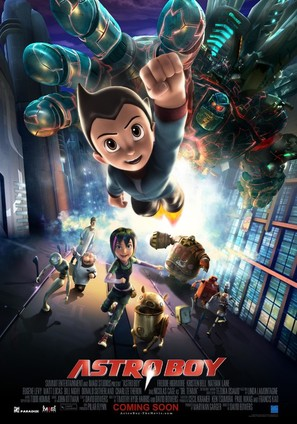 Astro Boy - Movie Poster (thumbnail)