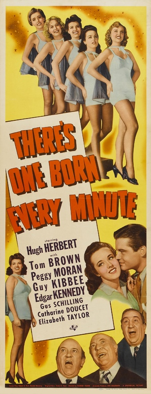 There's One Born Every Minute - Movie Poster (thumbnail)