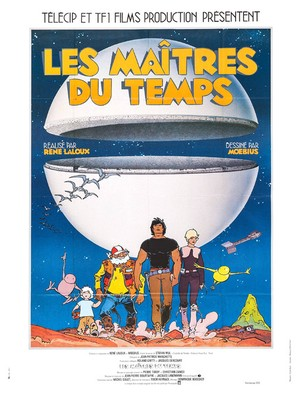 Les maîtres du temps - French Movie Poster (thumbnail)