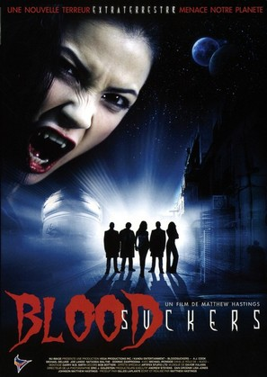 Bloodsuckers - French DVD movie cover (thumbnail)