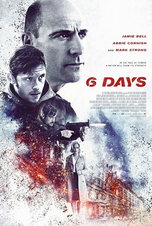 6 Days - New Zealand Movie Poster (thumbnail)