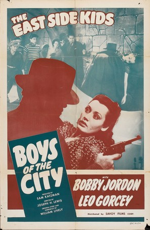 Boys of the City - Movie Poster (thumbnail)