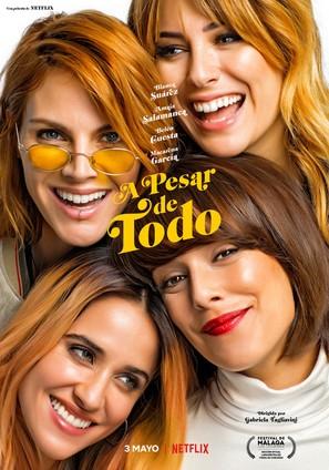 A pesar de todo - Spanish Movie Poster (thumbnail)