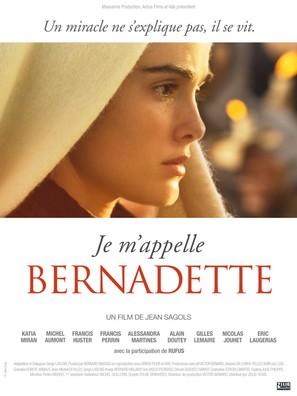 Je m'appelle Bernadette - French Movie Poster (thumbnail)