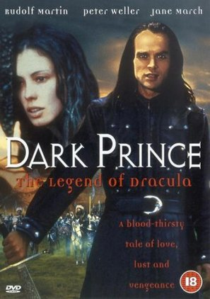 Dark Prince: The True Story of Dracula - British DVD movie cover (thumbnail)