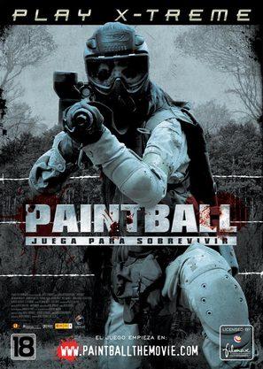 Paintball - Spanish Movie Poster (thumbnail)