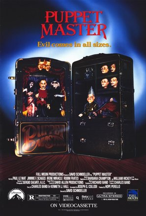 Puppet Master - Video release movie poster (thumbnail)