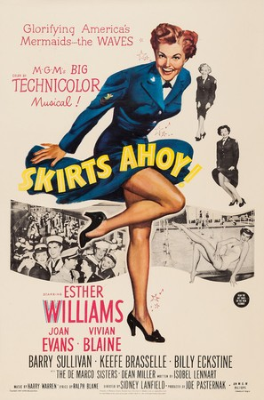 Skirts Ahoy! - Movie Poster (thumbnail)