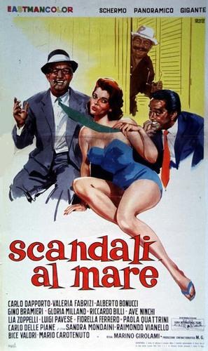 Scandali al mare - Italian Movie Poster (thumbnail)