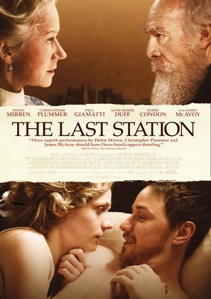 The Last Station - Theatrical movie poster (thumbnail)