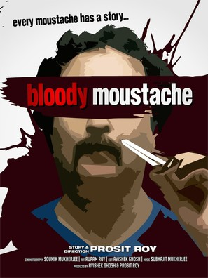 Bloody Moustache - Indian Movie Poster (thumbnail)
