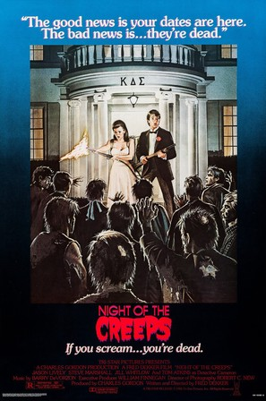 Night of the Creeps - Movie Poster (thumbnail)