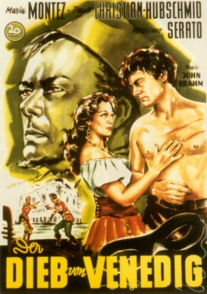 Ladro di Venezia, Il - German Movie Poster (thumbnail)