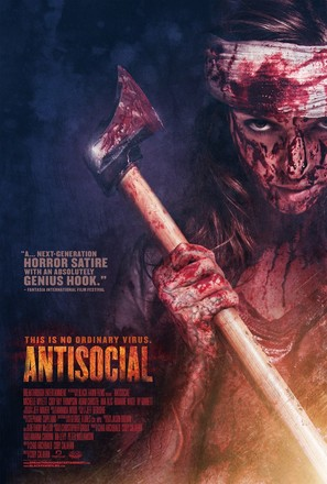 Antisocial - Canadian Movie Poster (thumbnail)