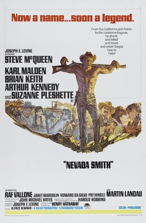 Nevada Smith - Movie Poster (thumbnail)
