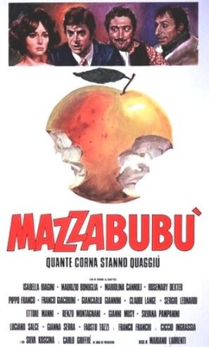 Mazzabubù... quante corna stanno quaggiù? - Italian Movie Poster (thumbnail)