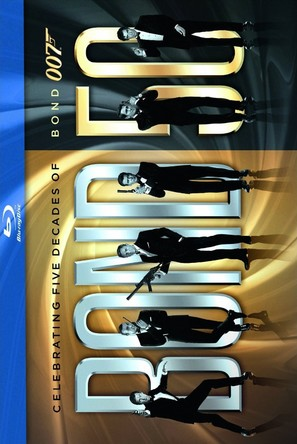 Quantum of Solace - Blu-Ray movie cover (thumbnail)