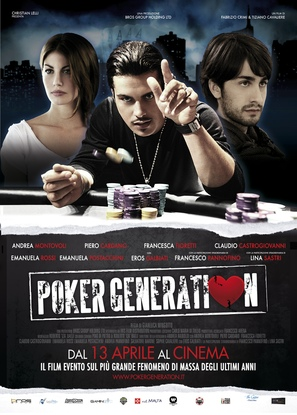 Poker Generation - Italian Movie Poster (thumbnail)