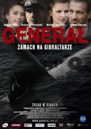 General. Zamach na Gibraltarze - Polish Movie Poster (thumbnail)