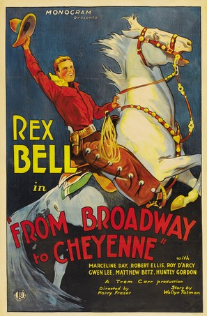Broadway to Cheyenne - Movie Poster (thumbnail)