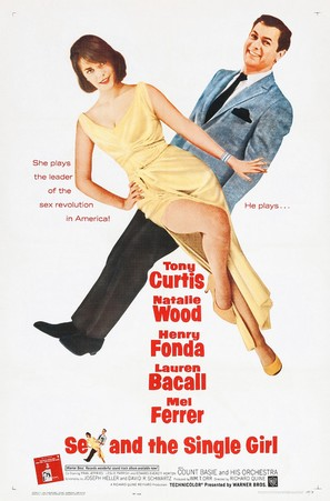 Sex and the Single Girl - Movie Poster (thumbnail)