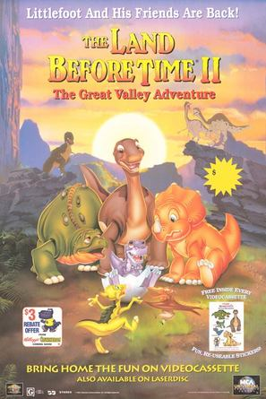The Land Before Time 2 - Video release poster (thumbnail)