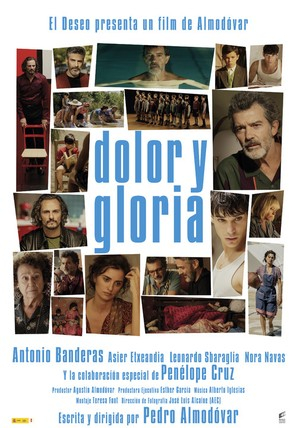 Dolor y gloria - Spanish Movie Poster (thumbnail)