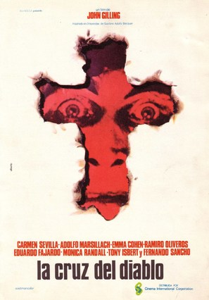 La cruz del diablo - Spanish Movie Poster (thumbnail)