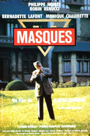 Masques - French Movie Poster (thumbnail)